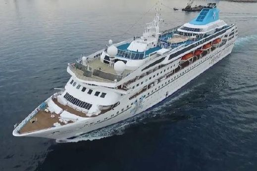 Cruise Ship, 1076 Passenger - Stock No. S2115