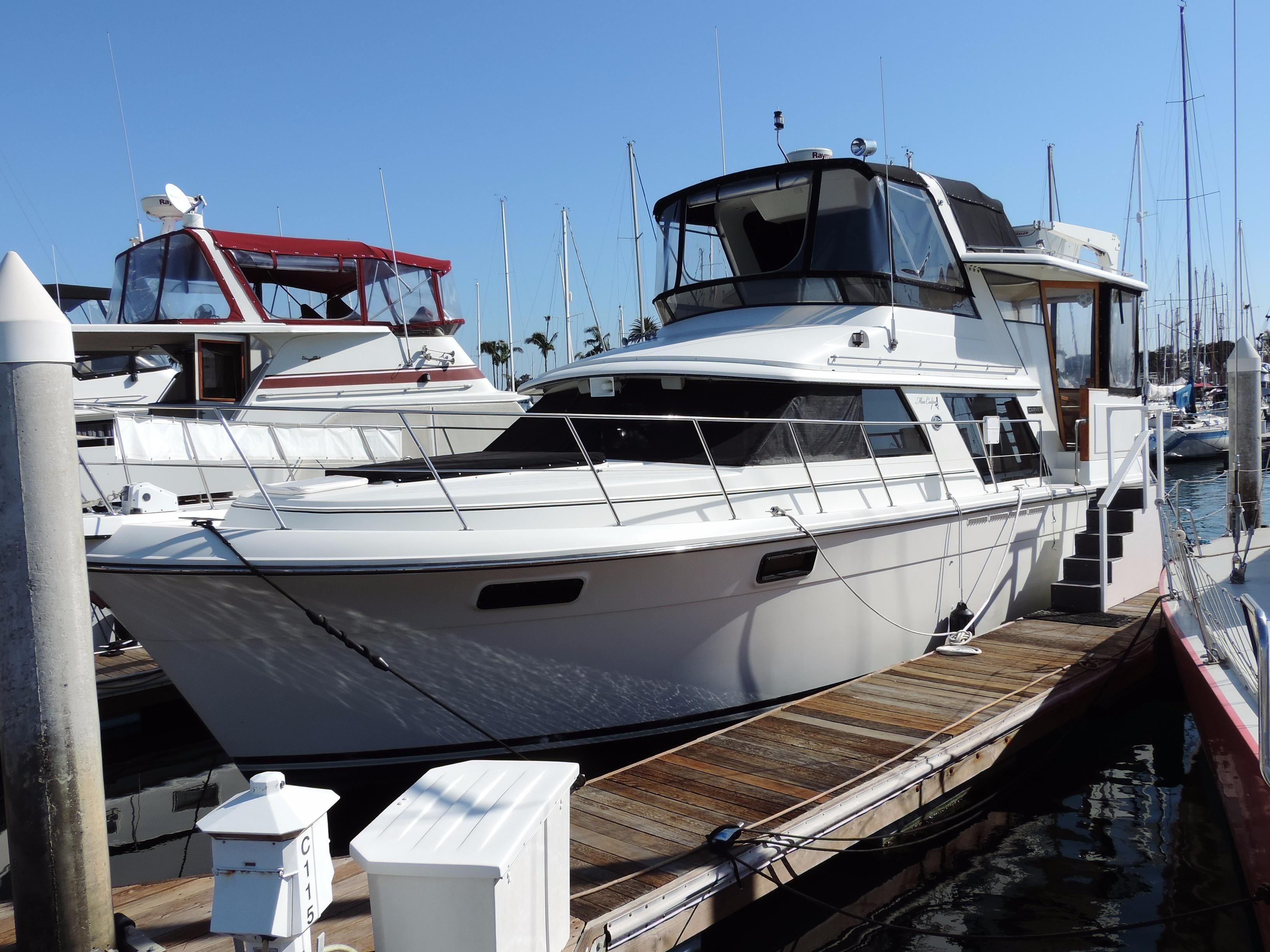 1987 Carver 42 Aft Cabin Motoryacht Power Boat For Sale ...
