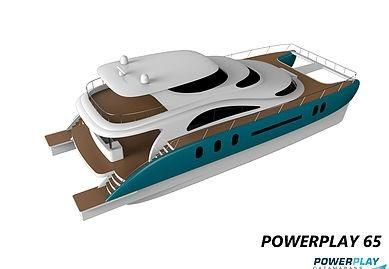 2016 Powerplay Catamaran 65