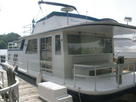 1988 Gibson 44 Houseboat