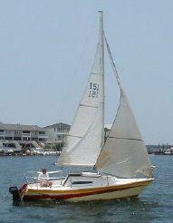 1983 Us Yacht Fin Keel