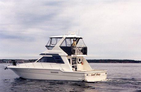 1991 Sea Ray Convertible Flybridge