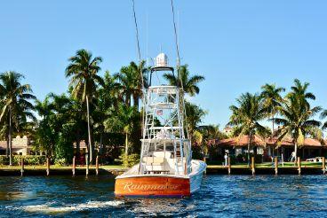 thumbnail photo 1: 2014 Release Boatworks 46 Walkaround Custom Carolina