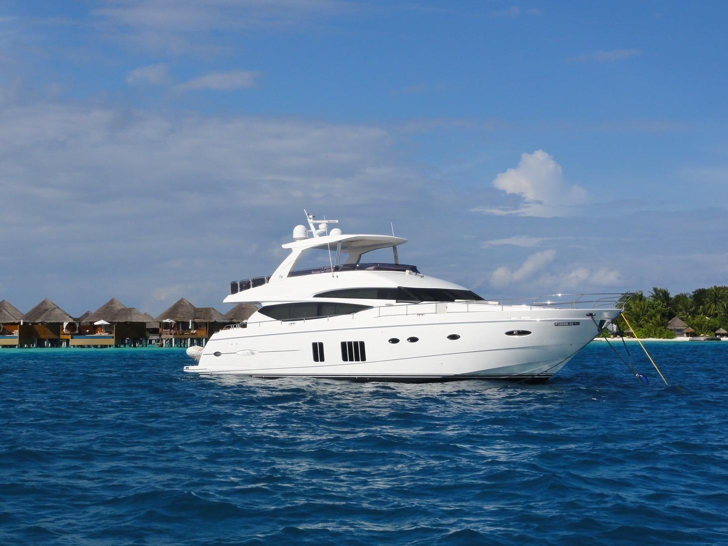 2013 Princess 78 Motor Yacht Power Boat For Sale Www