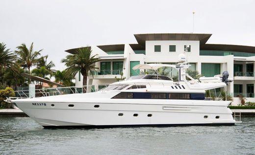 1996 Dyna Yachts 68