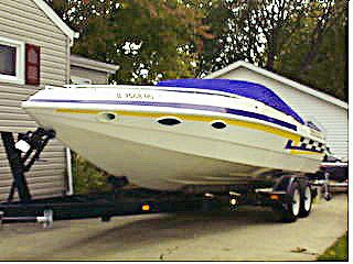 1993 Seebold Marine 265 Eagle Twin