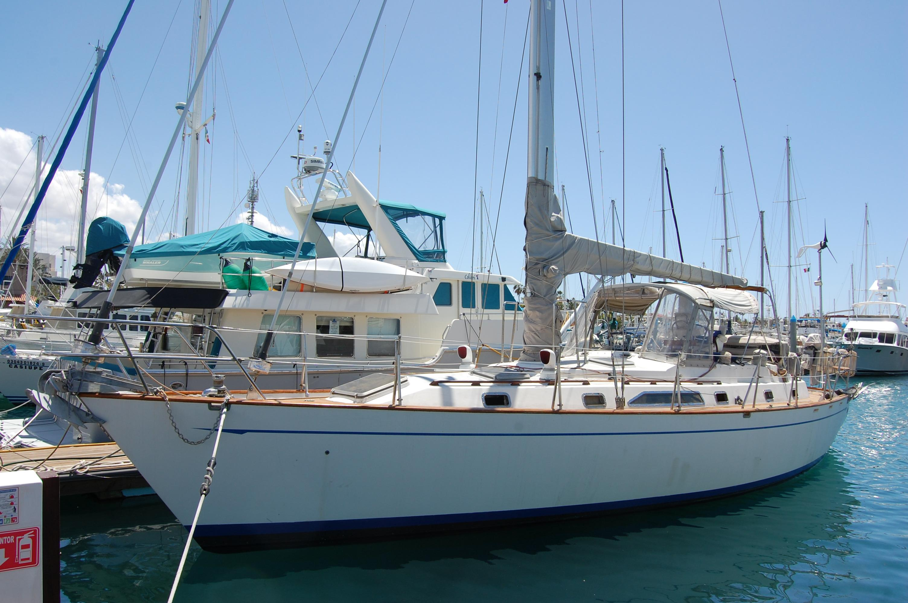 47' Tayana Center Cockpit Cutter+Boat for sale!