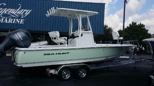 2016 Sea Hunt BX 22 BR