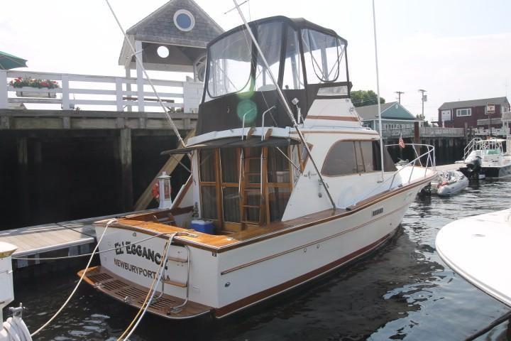 1978 egg harbor 33 sedan