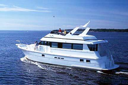 1999 Hatteras 65 Sport Deck Motor Yacht