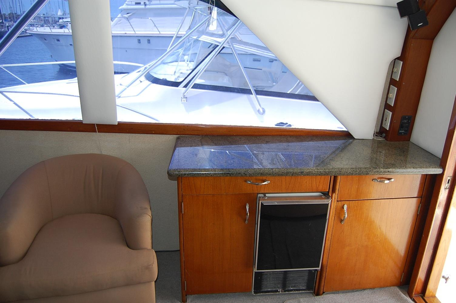 48' Ocean Yachts Super Sport+Counter space Galley