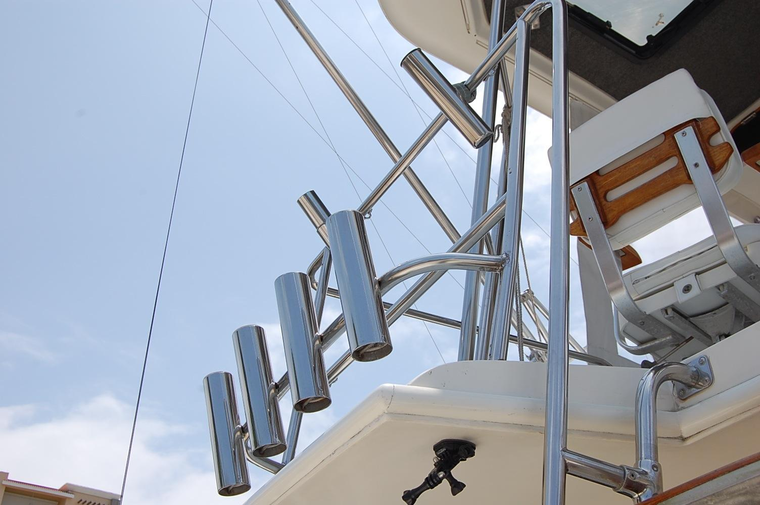 48' Ocean Yachts Super Sport+Ladder to Upper helm