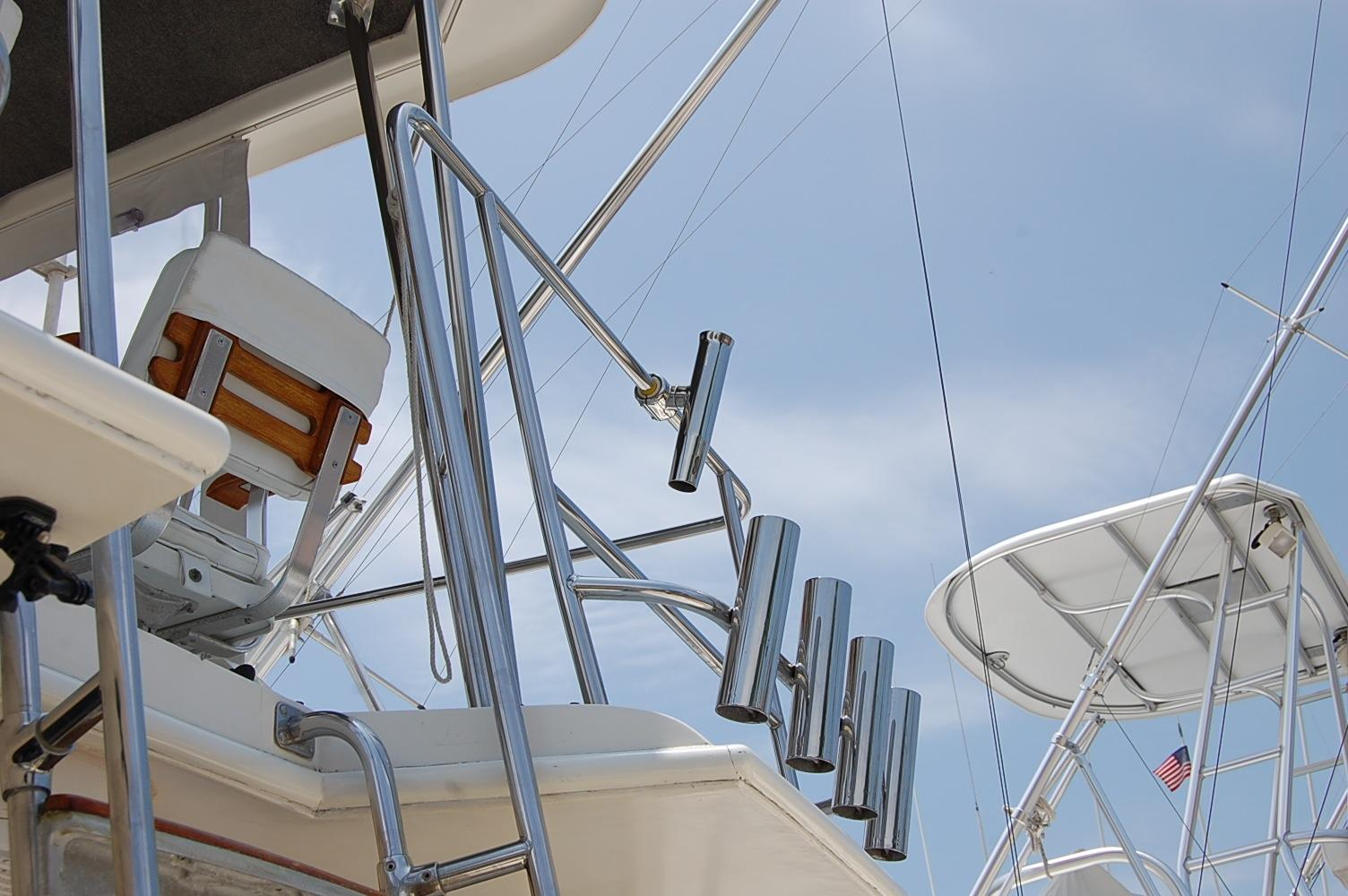 48' Ocean Yachts Super Sport+Ladder to helm
