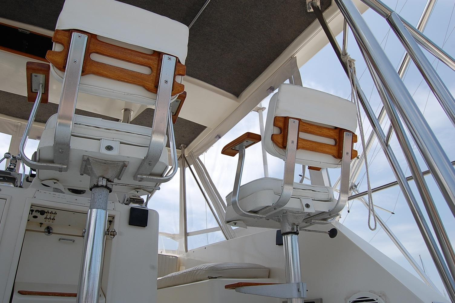 48' Ocean Yachts Super Sport+Starboard Rod Holders