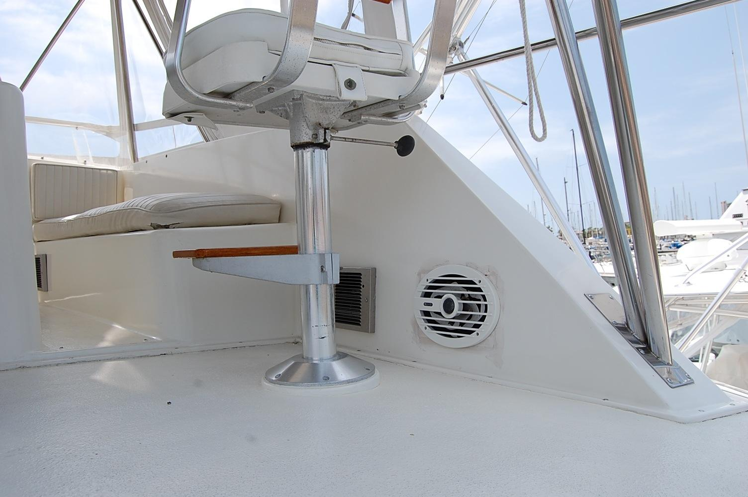 48' Ocean Yachts Super Sport+Aft looking Light Starboard