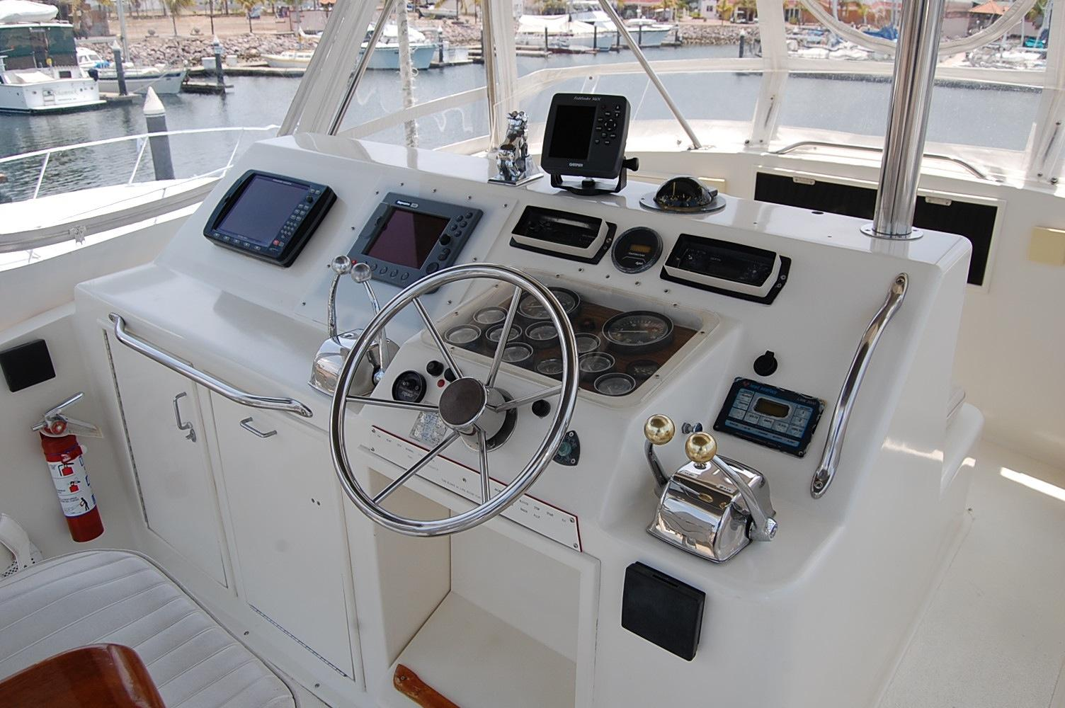 48' Ocean Yachts Super Sport+Aft Looking Light Port