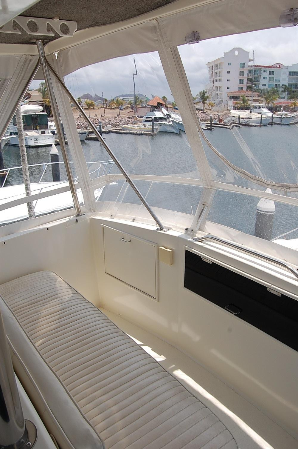 48' Ocean Yachts Super Sport+Out Riggers Port Top View