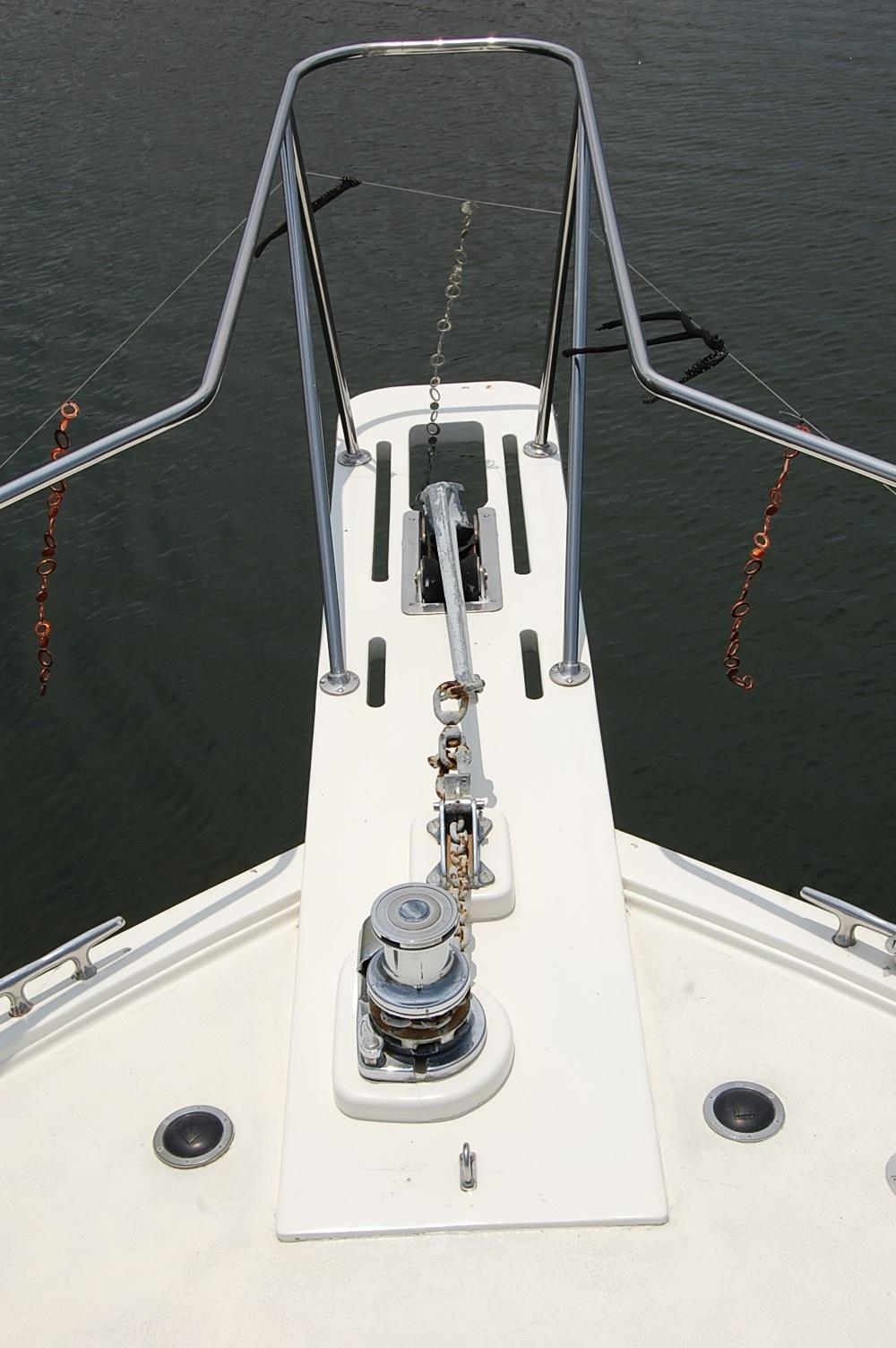 48' Ocean Yachts Super Sport+Bow View