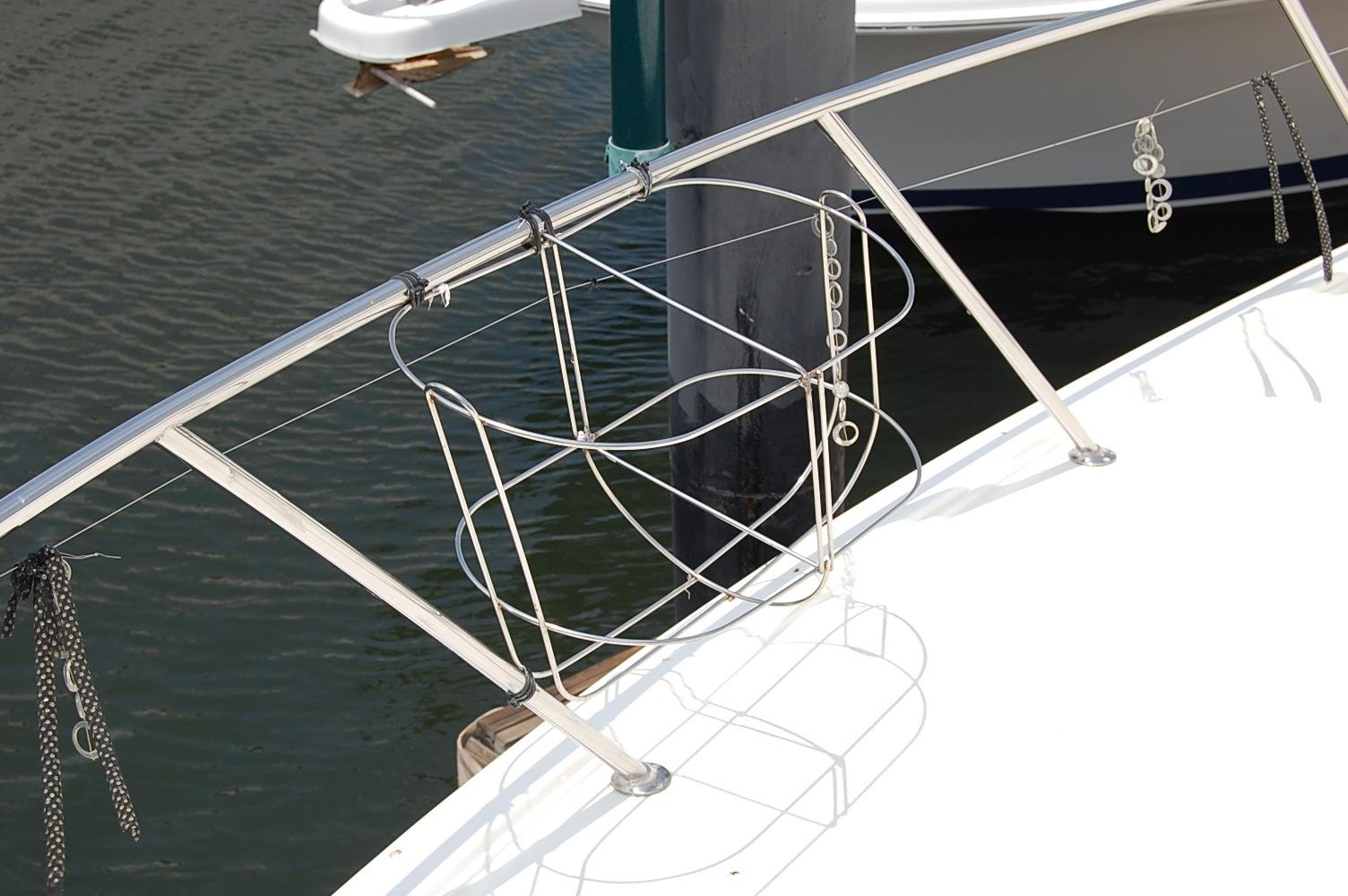48' Ocean Yachts Super Sport+View looking Aft
