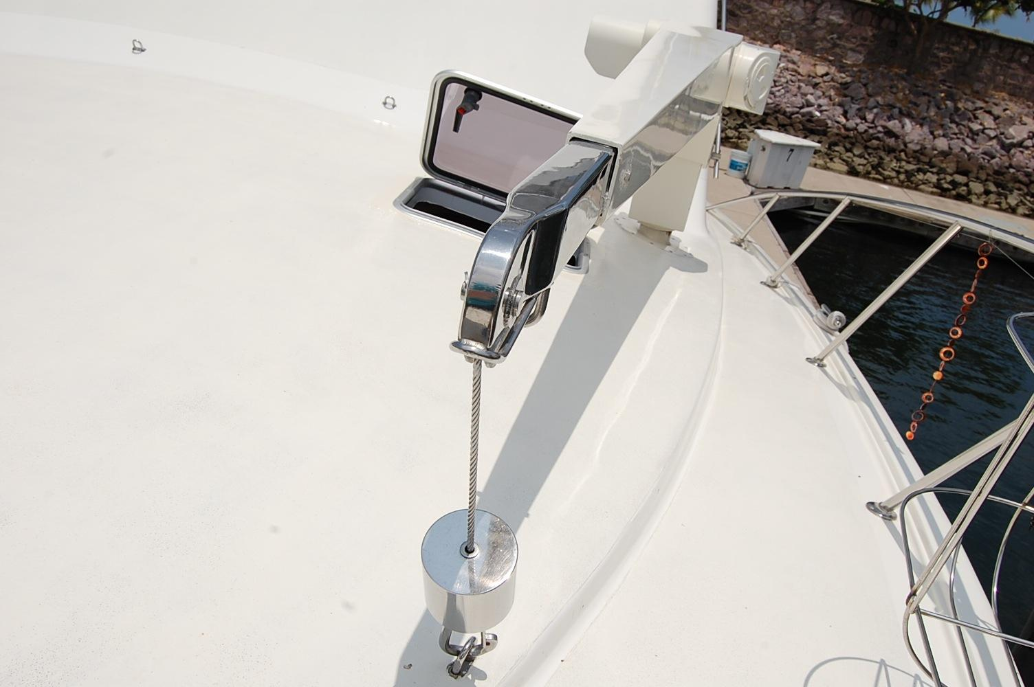 48' Ocean Yachts Super Sport+Starboard view looking Aft