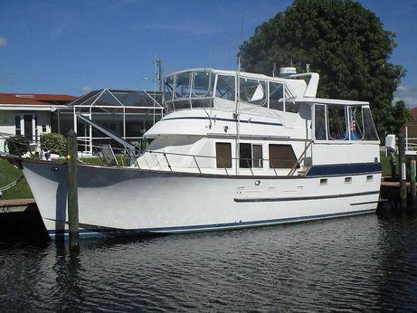 1984 Ocean Alexander Aft Deck Trawler