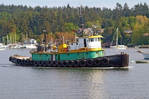 1944 Steel Bushey Navy Tug 100' Commercial Workboat
