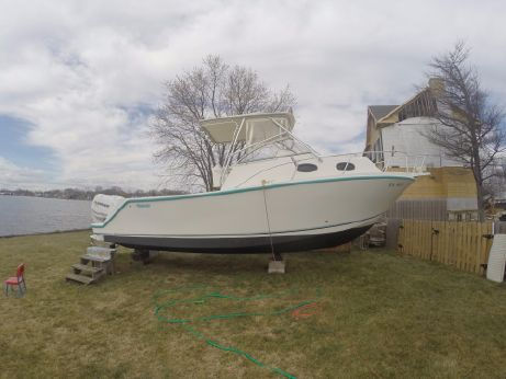 1995 Mako 293 Walk Around 2005 motors
