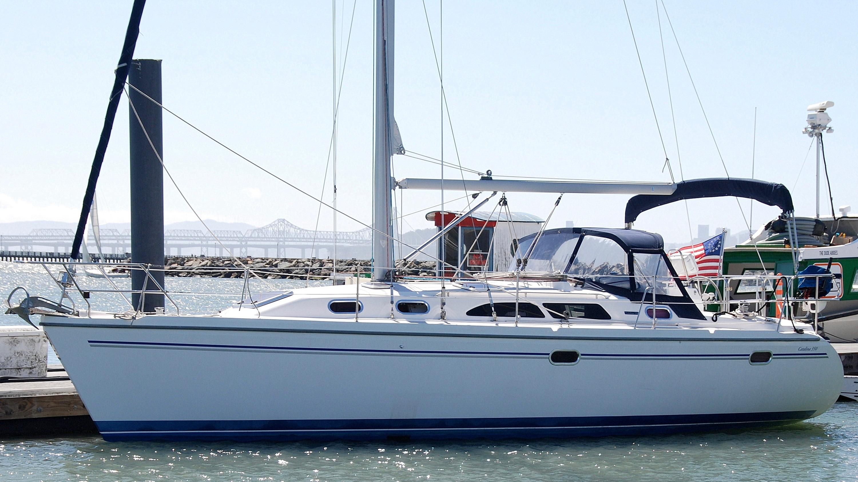 2005 catalina 350 sail boat for sale www yachtworld com rh yachtworld com Galley Catalina 350 Catalina 350 Brochure