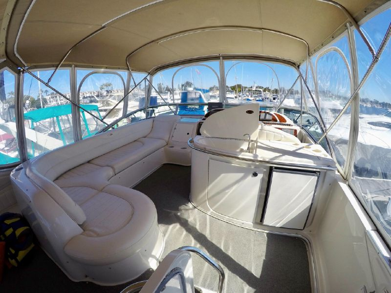 Maxum 4600 SCB yacht for sale in San Diego Hyatt