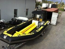 2013 Air Solid Rigid Inflatable Center Console