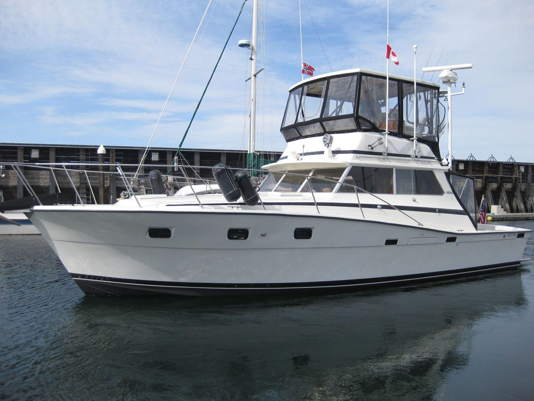 1979 Viking 40 Sedan Convertible Power Boat For Sale Www