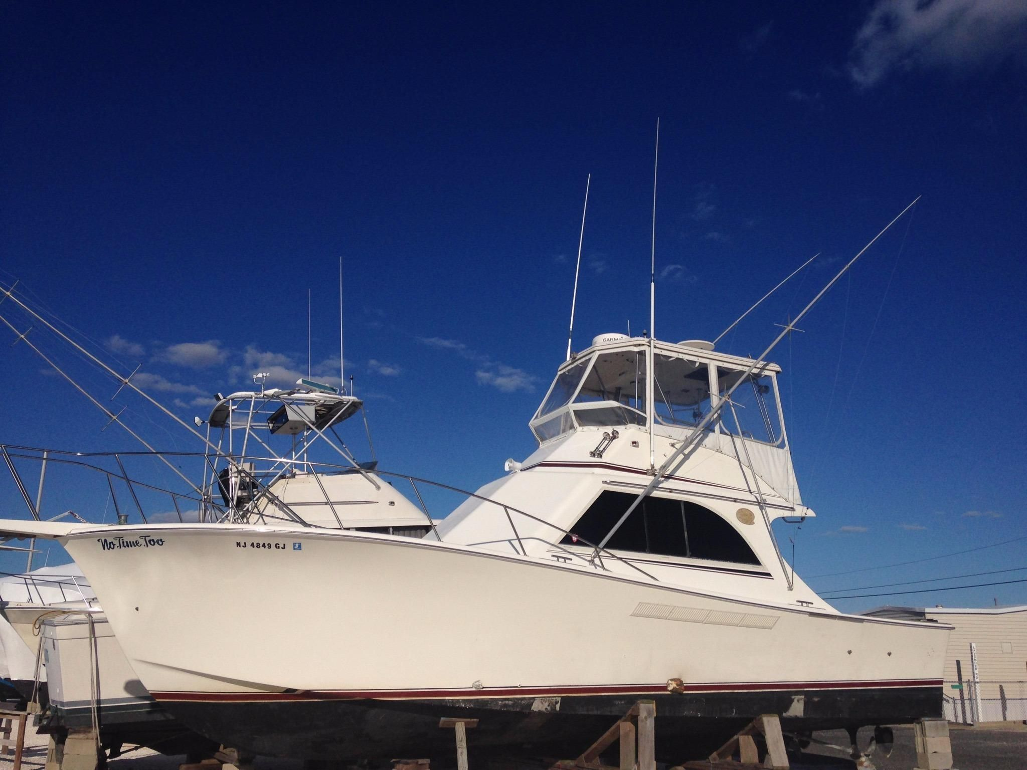 1988 jersey sportfish power boat for sale for Wildwood fishing charters