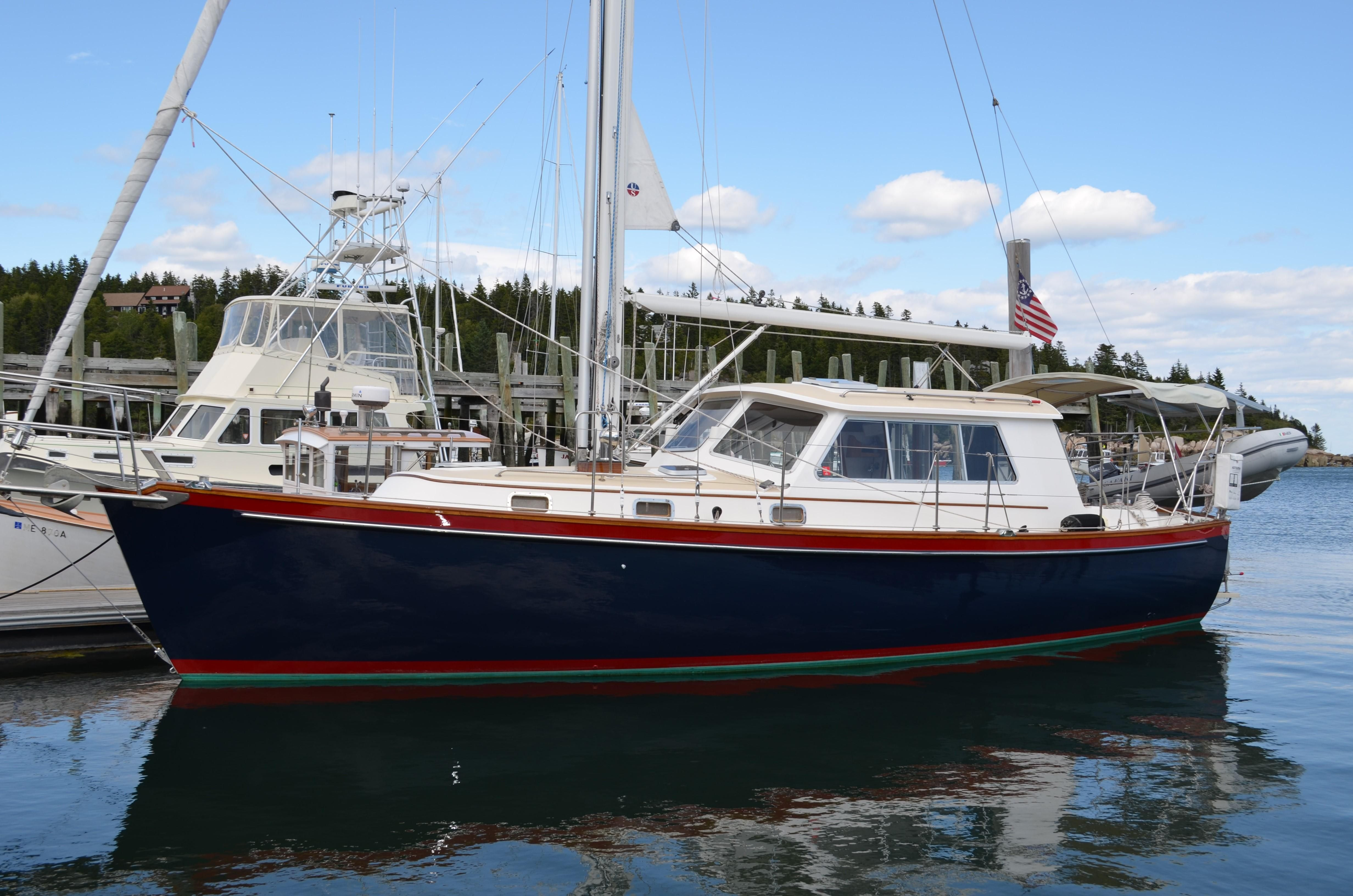 1999 cabo rico northeast 400 motorsailer sail boat for for Motor yachts for sale near me