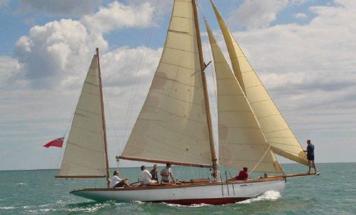 1906 Luke Brothers 38 ft Yawl 1906