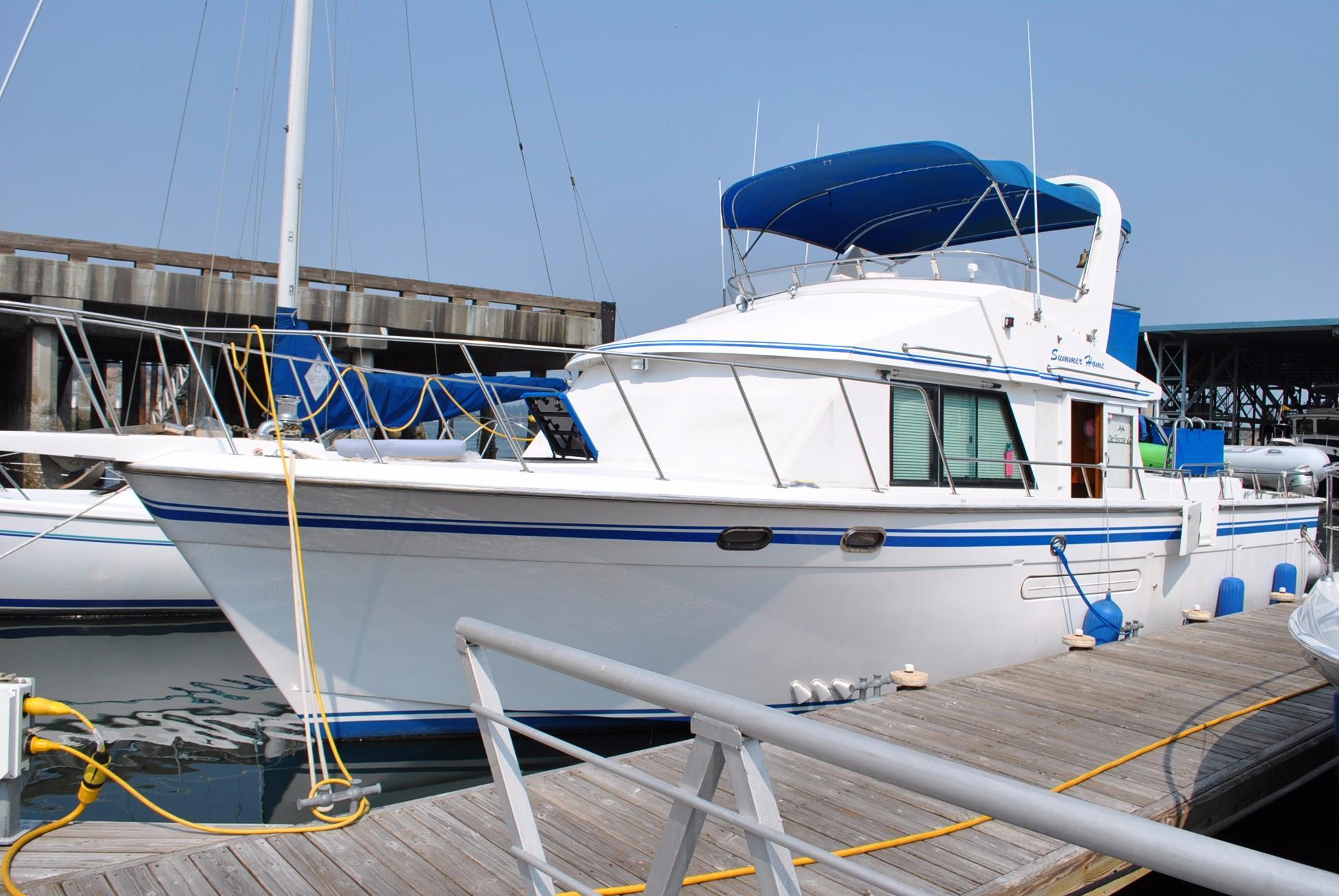 1989 Defever Offshore Cruiser Power Boat For Sale Www