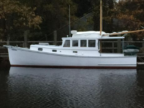 1976 Mcintosh Downeast Lobster Yacht