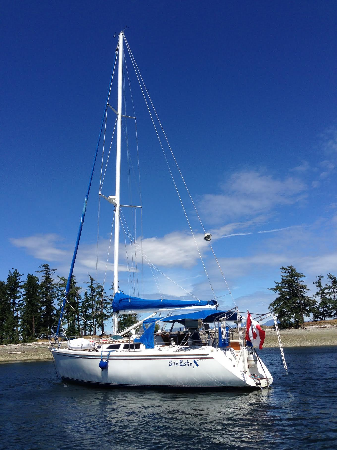 42' Catalina MKI+Boat for sale!