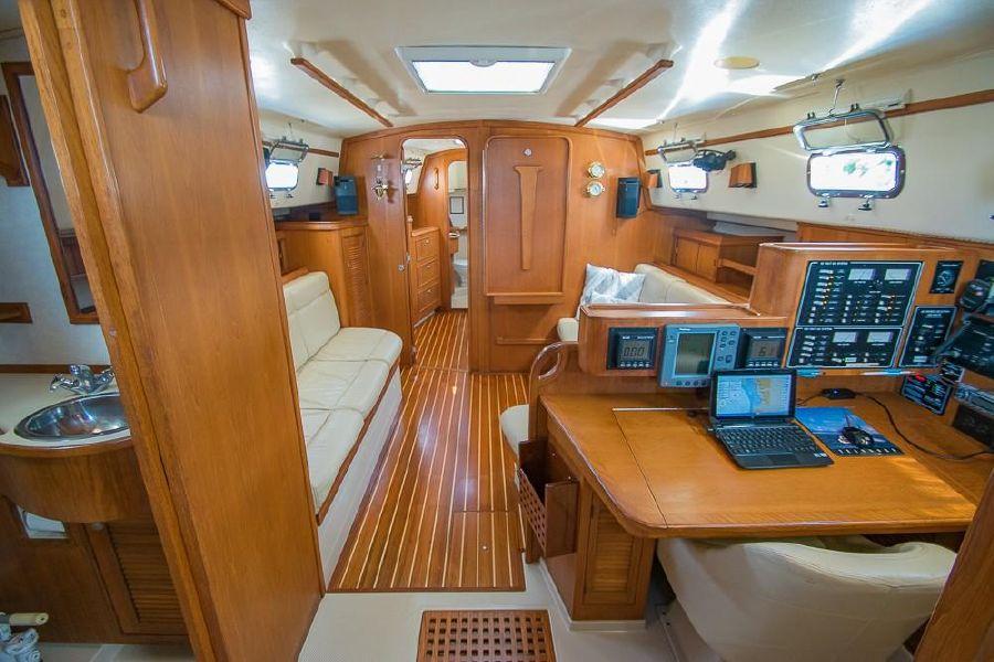 Island Packet 45 Sailboat Interior