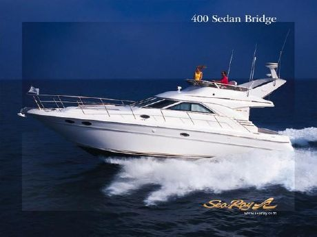 2003 Sea Ray 400 Sedan Bridge