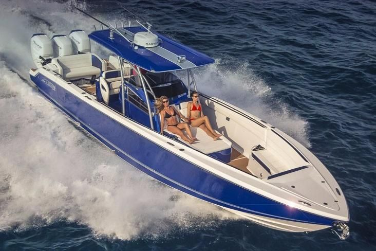 2019 Nor-Tech 390 Center Console Power Boat For Sale - www