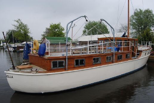 1938 Thornycroft 53ft Classic Motor Yacht