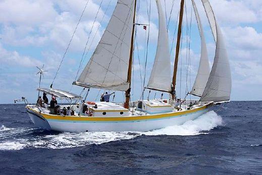2002 Custom 73ft Staysail Schooner