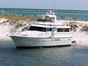 1990 Hatteras 54 Motor Yacht Extended Deck