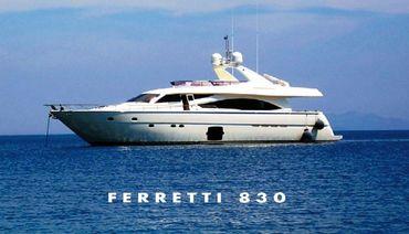 2006 Ferretti Yachts 830
