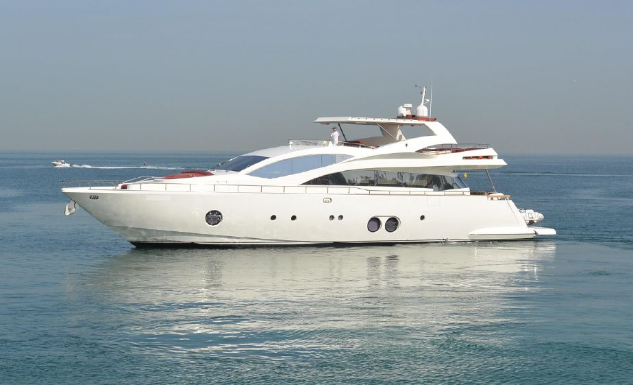 2007 Aicon 85 Motor Yacht Power Boat For Sale - www