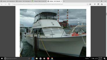 1987 Mainship Nantucket