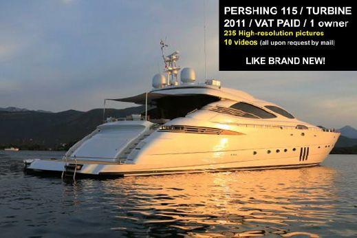 2011 Pershing 115