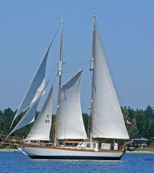 2008 Custom Steel schooner