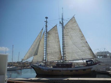 1968 Custom 62 classic schooner