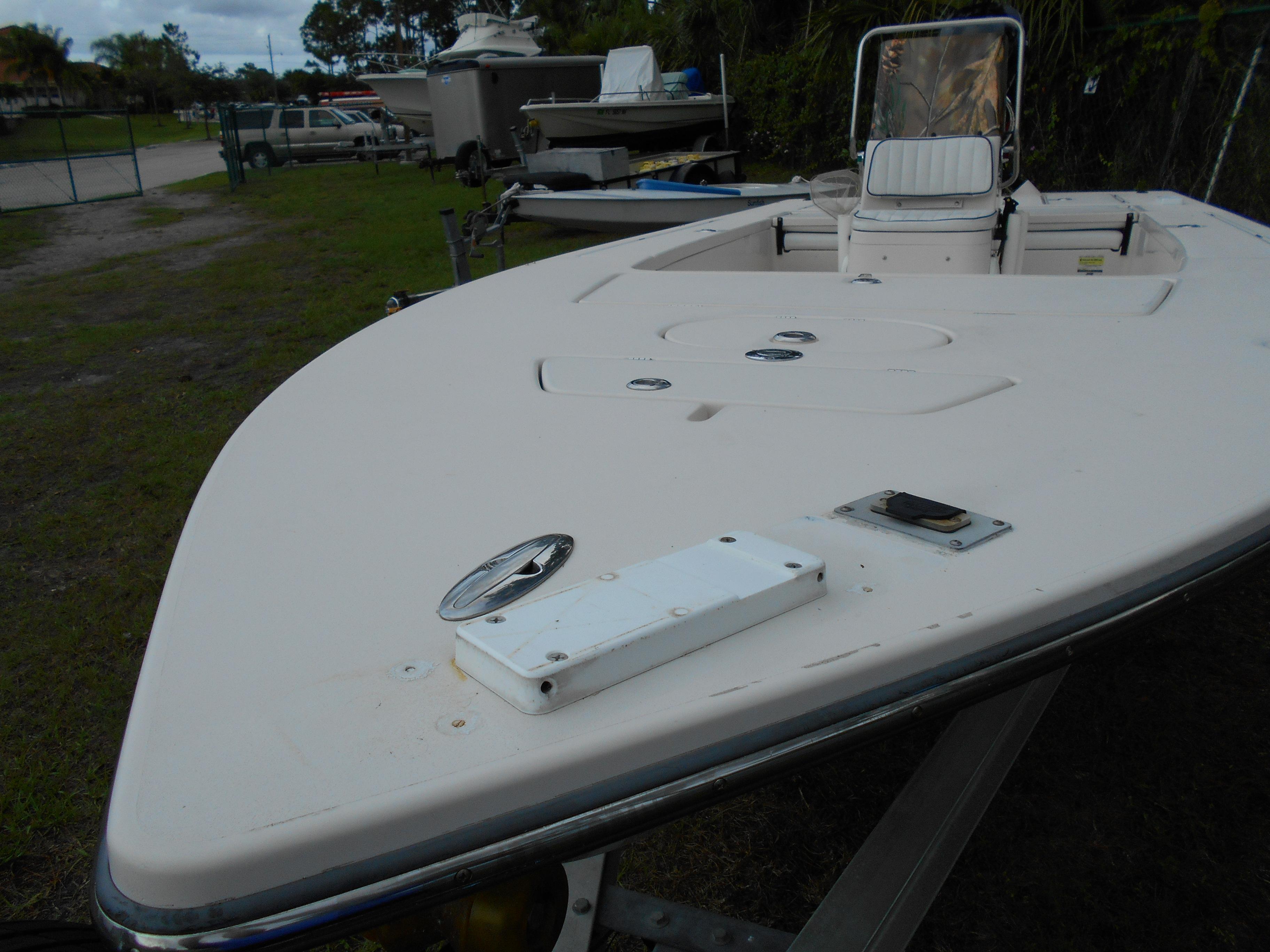 21 ft 2007 hewes redfisher yamaha 250